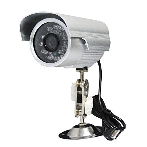 Skysonic 防犯カメラ 暗視防犯 USB給電 赤外線L...