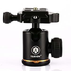 TARION Q06 デジタル 一眼レフ カメラ 用 自由雲台 三脚 ボール雲台 ボールヘッド アルミ製 クイックシュー付き 360度回転可能 球体直径30mm