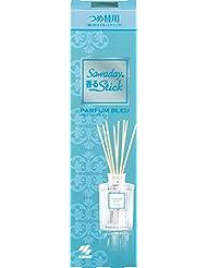 サワデー香るスティック 消臭芳香剤 詰め替え用 パルファムブルー 70ml