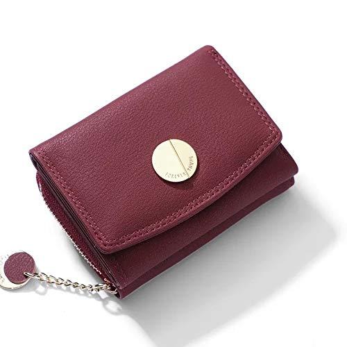 b24ef1a5f467 FuYu 財布 タッセル 多機能 大容量 シンプル レディース 二つ折り ミニ財布 小銭入れ ウォレット