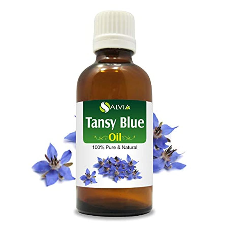 Tansy Blue Oil (Tanacetum annuum) 100% Natural Pure Undiluted Uncut Essential Oil 15ml