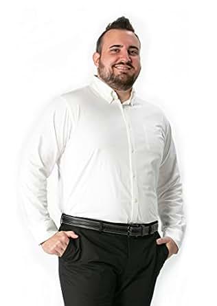 LIBERATON(リベレートン) ストレッチドレスシャツ カットソー スムースホワイト(XL~XMサイズ) PT-007 (XL)