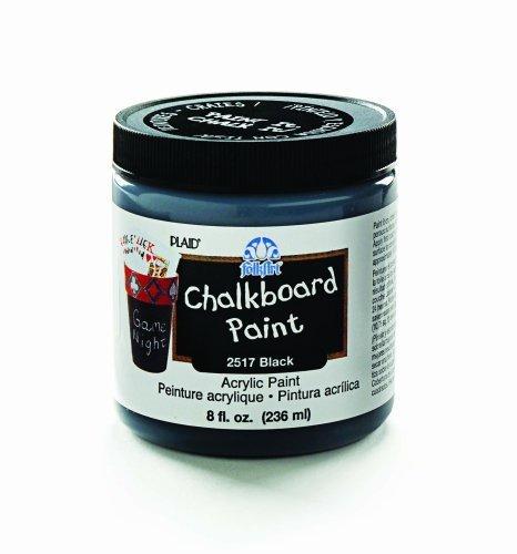 FolkArt 2517 8-Ounce Chalkboard Paint, Black by FOLKART [並行輸入品]