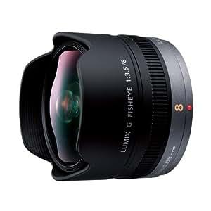 Panasonic 単焦点 魚眼レンズ マイクロフォーサーズ用 ルミックス G FISHEYE 8mm/F3.5 H-F008