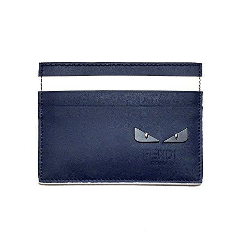 [フェンディ]FENDI カードケース メンズ FENDI 7M0164 A2WP F11WY BAG BUGS バッグ バグズ ネイビー [並行輸入品]