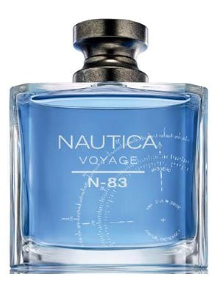 機知に富んだ絶滅させる大聖堂Nautica Voyage N83 (ナウティカ ボヤージュ N83) 3.4 oz (100ml) EDT Spray for Men