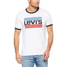 Levi's Men's Ss Ringer Tee Sportswear Sportswear Logo T-Shirts