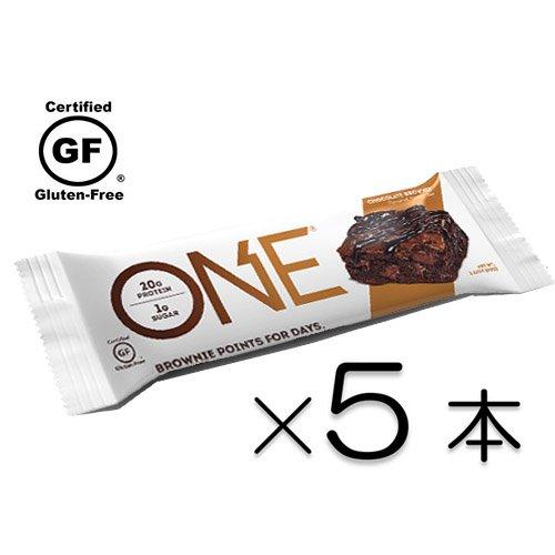 【 糖質1g プロテインバー 】Oh Yeah! ONE オーイェー ワン (5本)