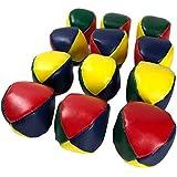 RER ジャグリング ボール 12個 セット ビーンバッグ 大道芸 余興 かくし芸 お手玉 トスジャグリング (1ダース セット) (12個セット)