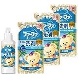 ファーファ トリップ 液体 洗剤 ドバイ オリエンタルムスクの香り 本体 (450g) 詰替 (400g) 3個セット