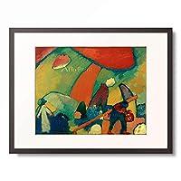 ワシリー・カンディンスキー Wassily Kandinsky (Vassily Kandinsky) 「Strandszene, 1909.」 額装アート作品