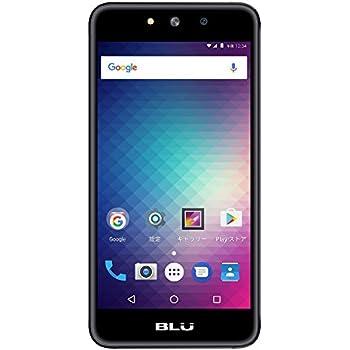 【Amazon.co.jp 限定】BLU(ブルー)GRAND M SIMフリースマートフォン ブラック  【日本正規代理店品】 G070J/BLA-38
