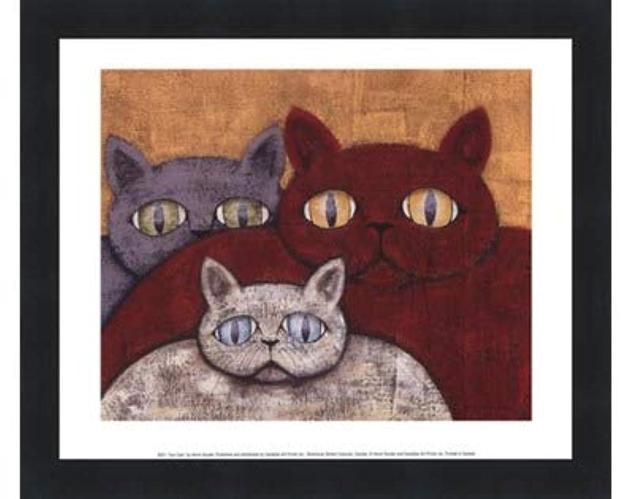 ポスト印象派改善する無視Sun Cats by Kevin Snyder – 11.75 X 9.5インチ – アートプリントポスター LE_57618-F101-11.75x9.5