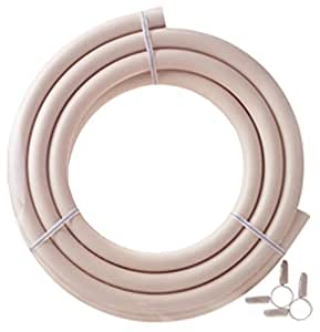 ダンロップ 都市ガス用新ガスソフトコード(内径9.5mm) ホースバンド付き 3m 3377