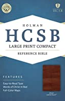 Holy Bible: Holman Christian Standard Bible, Brown, LeatherTouch, Reference