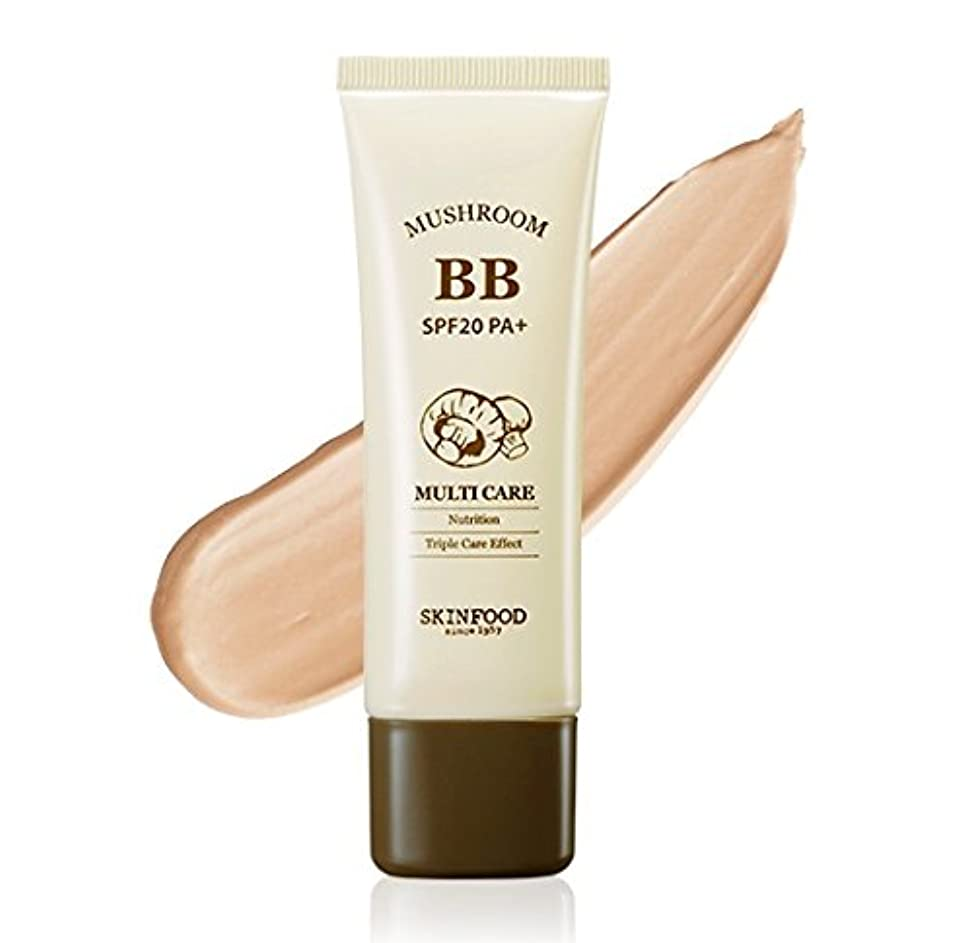 調停者厚さのど#Bright skin SKINFOOD Mushroom Multi Care BB Cream スキンフード マッシュルーム マルチケア BB cream クリーム SPF20 PA+ [並行輸入品]