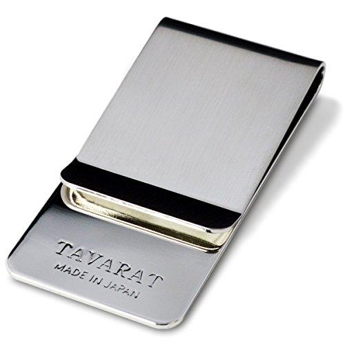 (タバラット)TAVARAT 日本製 マネークリップ 【 真鍮製 サテーナ加...