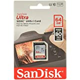 SanDisk 64GB Ultra SDHC™ UHS-I Card - SDSDUNC-064G-GN6IN