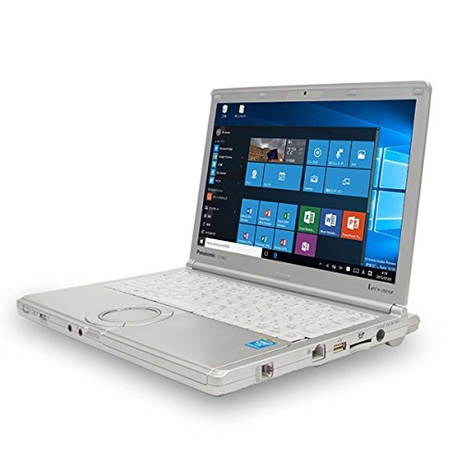 シーン遷移ウェイドノートパソコン 中古 Panasonic Let'snote CF-NX3GDHCS Core i5 8GBメモリ 12.1インチWXGA++ Windows10 MicrosoftOffice2010 Home and Business