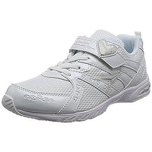 [シュンソク] 運動靴 通学履き 瞬足レモンパイ 軽量 19~24.5cm 2E キッズ 女の子