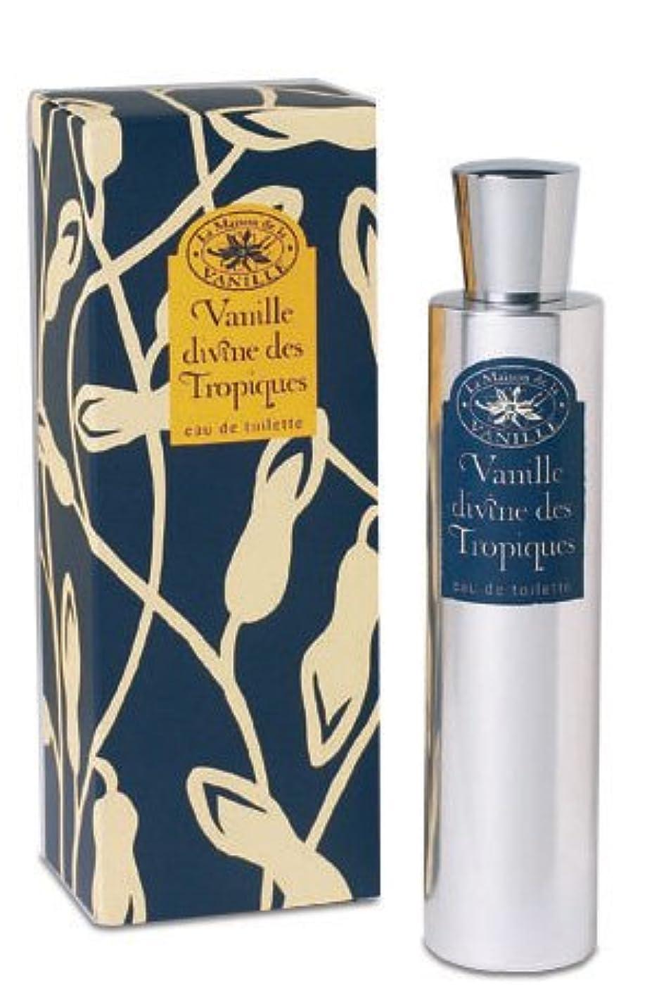アクティブ代わりの災害Vanille Divine des Tropiques (ヴァニラ ディバイン デ トロピーク) 3.4 oz (100ml) EDT Spray