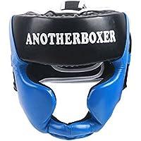 KSUNSEVEN ボクシング 総合格闘技 キックボクシング ヘッドギア フルクローズタイプ ボクシング ヘルメット ヘッドガード スパーリング ムエタイ キックブレース ヘッドプロテクション