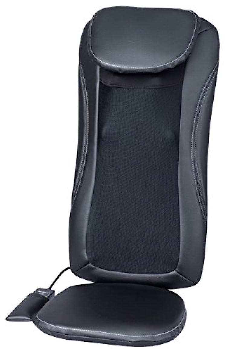 ホステス判読できない安価なスライヴ マッサージシート 「横回転もみ玉搭載」 ブラック MD-8600 BK