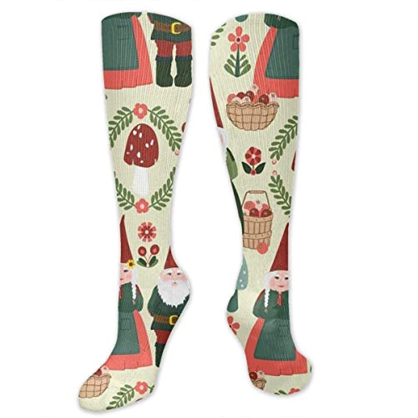 カートリッジ故障中スチュアート島靴下,ストッキング,野生のジョーカー,実際,秋の本質,冬必須,サマーウェア&RBXAA Christmas Gnomes Winter Party Socks Women's Winter Cotton Long Tube...