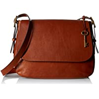 Fossil Harper Large Crossbody, Brown, One Size