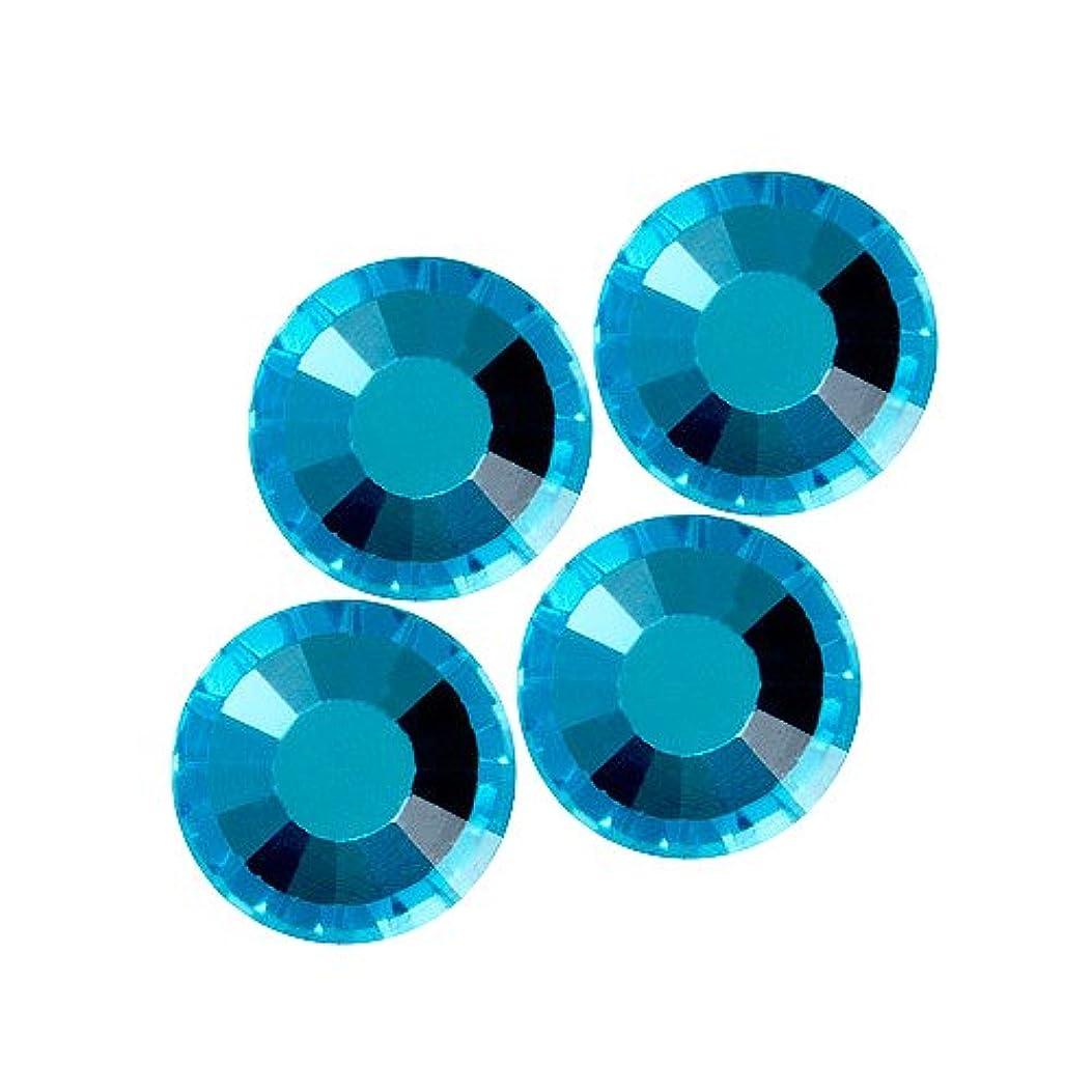 ペデスタル反対傷跡バイナル DIAMOND RHINESTONE アクアマリン SS12 1440粒 ST-SS12-AQM-10G