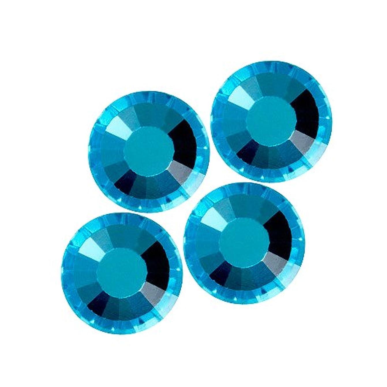 マントリーチ好みバイナル DIAMOND RHINESTONE アクアマリン SS12 1440粒 ST-SS12-AQM-10G