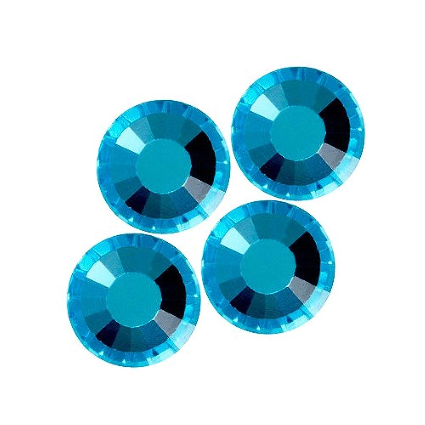 野な独裁期限バイナル DIAMOND RHINESTONE アクアマリン SS12 1440粒 ST-SS12-AQM-10G