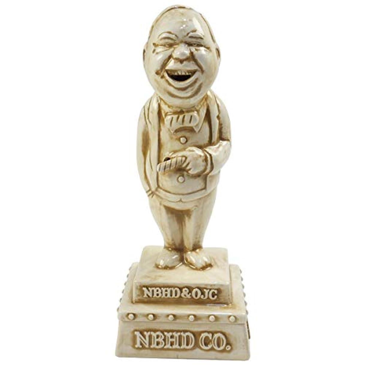 シャッフルブリリアント尊敬NEIGHBORHOOD ネイバーフッド 18AW ×OLD JOE. BOOZE/CE-INCENSE CHAMBER お香立て 茶 フリー