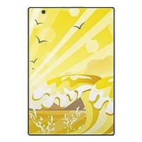arrows Tab F-02K スキンシール docomo ドコモ タブレット tablet シール ステッカー ケース 保護シール 背面 人気 単品 おしゃれ その他 南国 トロピカル 海 001380