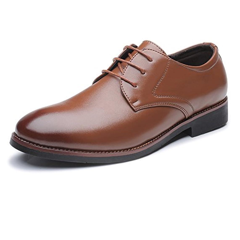 区別ディスカウント失礼な革靴 メンズ ビジネスシューズ 通勤 軽量 フォーマル クラシック マット PUレザー レースアップ 通気性 オックスフォードシューズ カジュアル