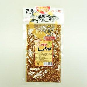 伊賀越 無添加 ぶっかけ生姜 130g入×10個セット (化学調味料 無添加 国産 食べる生姜 漬物)