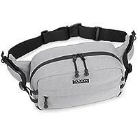 TOBON ウエストバッグ ヒップバッグ 防水 大容量 3WAY 斜めがけバッグ 肩掛けカバン 軽量 男女兼用