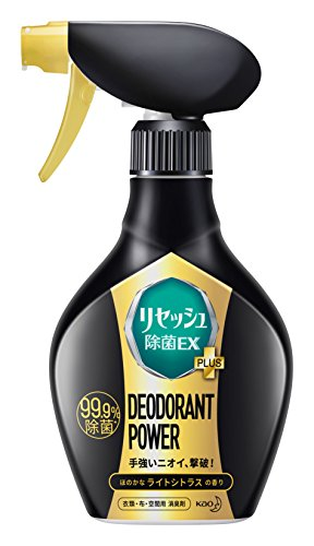 リセッシュ 除菌EX プラス 消臭芳香剤 液体 デオドラントパワー シトラスの香り 本体 360ml
