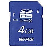 BUFFALOその他 RSDC-SC4シリーズ Class4 SDHCカード RSDC-S4GC4の画像