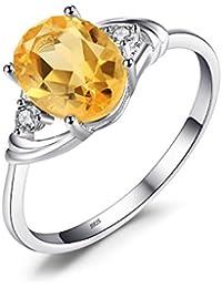ヴィンテージ・天然石スモーキークウォーツシルバー製リング・指輪15.5号