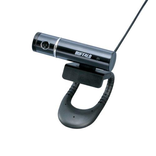 iBUFFALO Webカメラ Cmos130万画素 UVC対応 ヘッドセット付 ブラック BSW13K02HBK