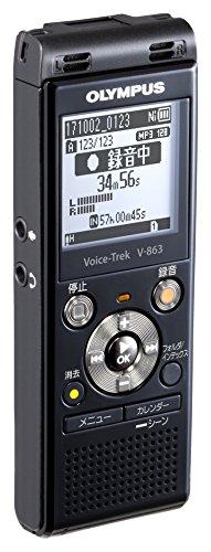 OLYMPUS  Voice Trek ICレコーダー ピアノブラック V-863BLK B072Q1TJ7K 1枚目