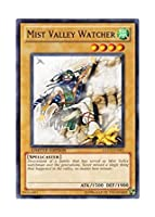 遊戯王 英語版 GLD3-EN001 Mist Valley Watcher 霞の谷の見張り番 (ノーマル) Limited Edition