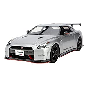 FRONTIART 1/18 GT-R nismo N'attack package 銀