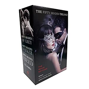 Fifty Shades Trilogy: The Movie Tie-In Editions with Bonus Poster: Fifty Shades of Grey, Fifty Shades Darker, Fifty Shades Freed