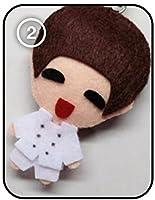 EXO エクソ Baekhyun ベッキョン – MAMA KPOP 手作り縫いぐるみキーチェーン
