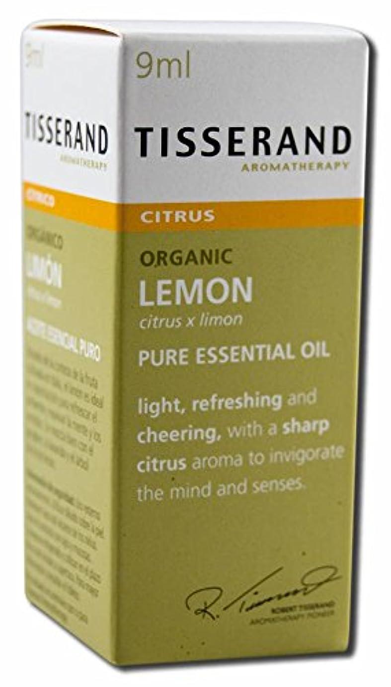 繊細正しく敏感なロバートティスランド ピュアエッセンシャルオイル レモン 9ml (オーガニック)