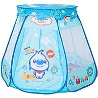 子供の遊びのテントトンネル赤ちゃん遊び屋屋内遊園地折りたたみしやすい (Color : Blue, Size : 90 * 90 * 120cm)