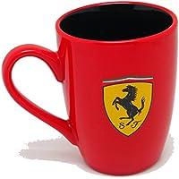 【 Ferrari 】 フェラーリ オフィシャル マグカップ シールド (レッド)