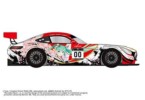 レーシングミク 2017Ver. グッドスマイル 初音ミク AMG 2017 SPA24H Ver. 1/32スケール ABS製 塗装済み完成品ミニカー